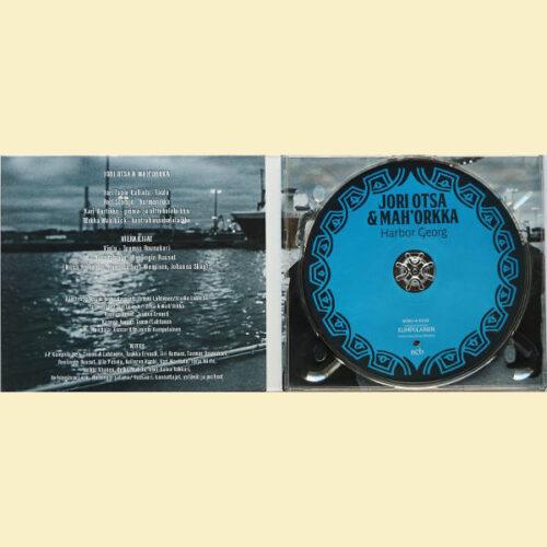 Jori Otsa ja Mah'Orkka – Harbor Georg   CD - sisäkansi